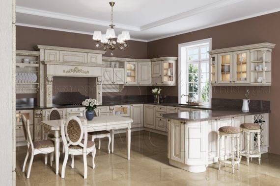 Кухня «Империал» светлая